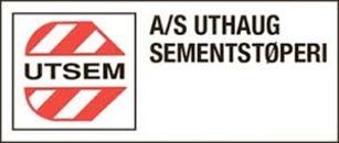 AS Uthaug Sementstøperi logo