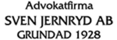 Advokatfirma Sven Jernryd AB logo