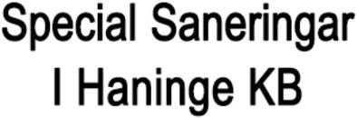 Special Saneringar I Haninge KB logo