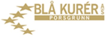 Blå Kurér AS logo