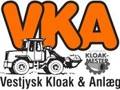 Vestjysk Kloak & Anlæg ApS logo