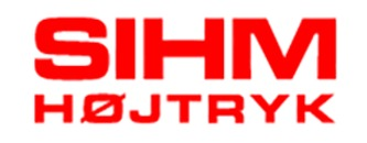 Sihm Højtryk A/S logo