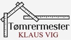 Tømrermester Klaus Vig logo