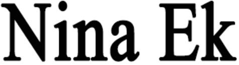 Nina Ek logo