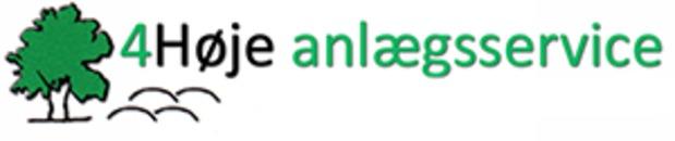 4høje Anlægsservice ApS logo