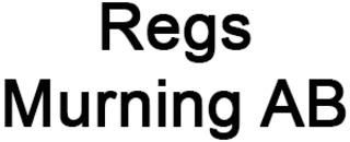 Regs Murning AB logo