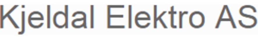 Kjeldal Elektro AS logo