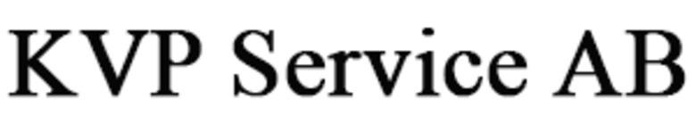 KVP Service AB logo