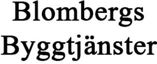 JP Blombergs Byggtjänster AB logo