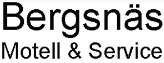 Bergsnäs Motell & Service logo