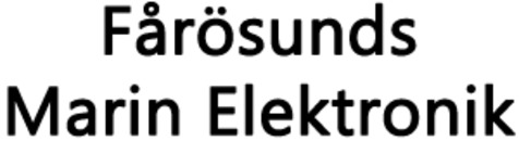 Fårösunds Marin Elektronik logo