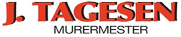 J. Tagesen Murermester logo