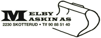 Melby Maskin AS logo