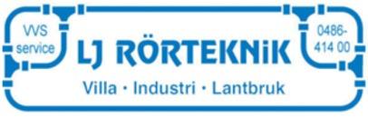 Lj Rörteknik I Torsås AB logo