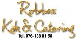 Robbas kök & catering logo