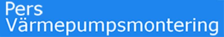 Pers Värmepumpsmontering AB logo