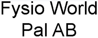 Pal Katarina (Fysio World Pal AB) logo