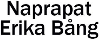 Naprapat Erika Bång logo