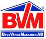 BVM ByggVärmeMaskiner AB logo