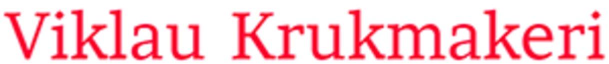 Viklau Krukmakeri logo