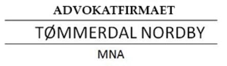 Advokatfirmaet Tømmerdal Nordby logo