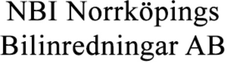NBI Norrköpings Bilinredningar AB logo