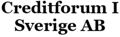 Creditforum I Sverige AB logo