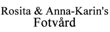 Rosita & Anna-Karin's Fotvård logo