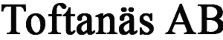 Toftanäs AB logo