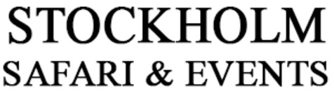 STOCKHOLM SAFARI & EVENTS™ logo