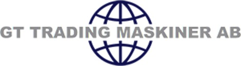 GT Trading Entreprenadmaskiner AB logo