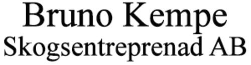 Bruno Kempe Skogsentreprenad AB logo
