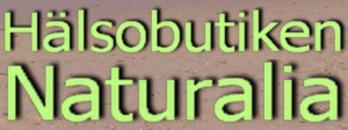 Hälsobutiken Naturalia logo
