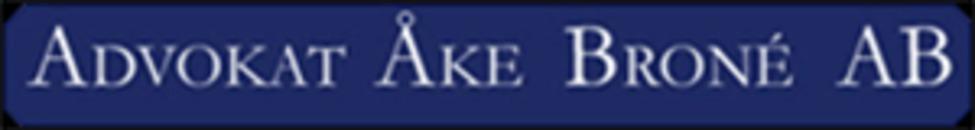Advokat Åke Broné AB logo