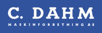 Maskinforretning C Dahm AS logo
