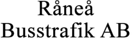 Råneå Busstrafik, AB logo