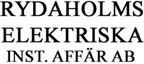 Rydaholms Elektriska Inst. Affär AB logo