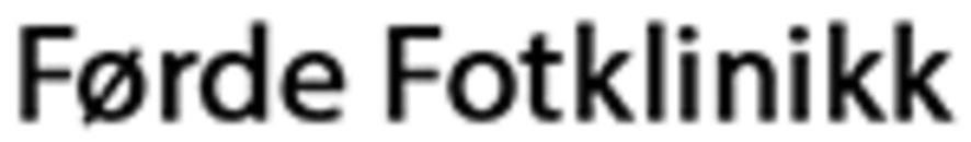 Førde Fotklinikk logo