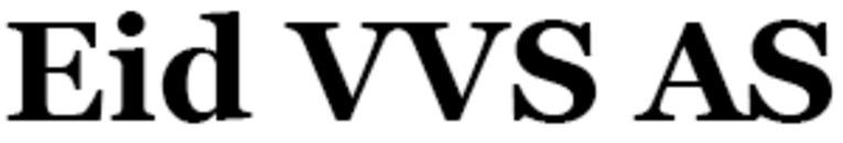 Eid VVS AS logo