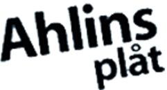 Ahlins Plåt, AB logo