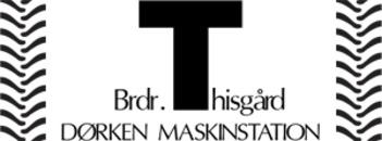 Dørken Maskinstation logo