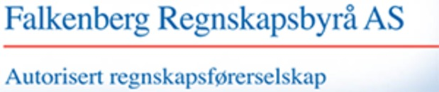 Falkenberg Regnskapsbyrå AS logo