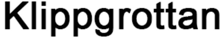 Klippgrottan logo
