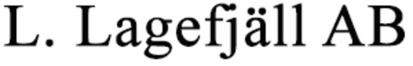 L. Lagefjäll AB logo