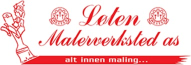 Løten Malerverksted AS logo