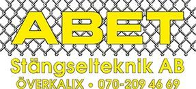 ABET Stängselteknik AB logo