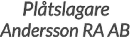 Plåtslagare Andersson RA AB logo