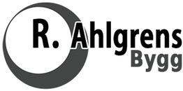 R.Ahlgrens Bygg logo