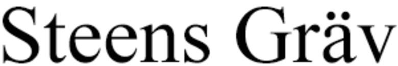 Steens Gräv logo