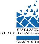 Svelvik Kunstglass logo